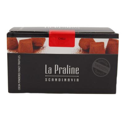 Chocolate Truffles Chili, La Praline, 200g