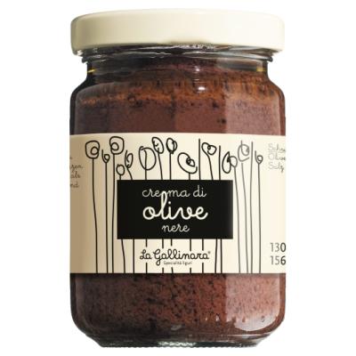 Pesto di Olive nere, La Gallinara, 130g