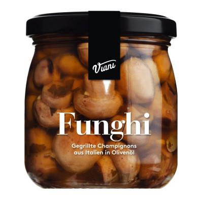Funghi - Gegrillte Champignons, Viani, 180g