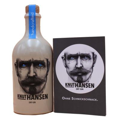 Knut Hansen Dry Gin, Hamburg Distilling Company, 500ml