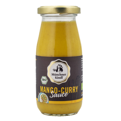 Mango-Curry Sauce, Münchner Kindl, 250ml