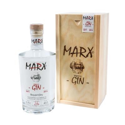 MARX -ORGANIC- GIN, BAYERNDRY, Wilhelm Marx, 700ml
