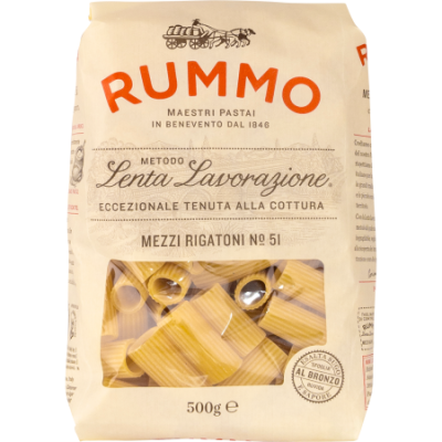 Rigatoni No. 51, Rummo, 500g
