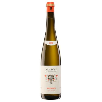Riesling Wiltinger Alte Reben Ortswein weiß 2019, Nik Weis, Mosel, 0,75l