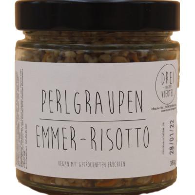 Perlgraupen Emmer-Risotto, 3/4 Vegan, 380g