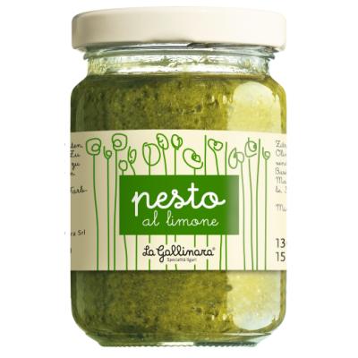 Pesto al Limone, La Gallinara, 130g