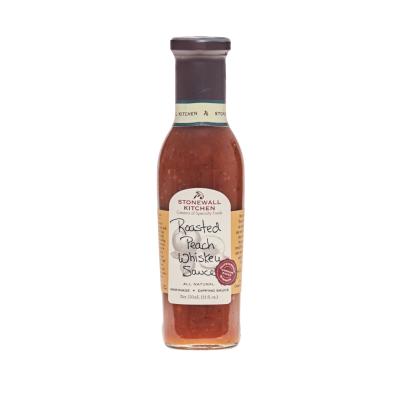 Smokey Peach Whiskey Sauce, Stonewall Kitchen, 330ml