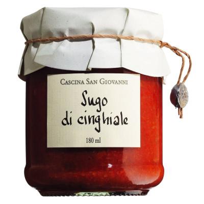 Sugo di cinghiale, Cascina San Giovanni, 180ml