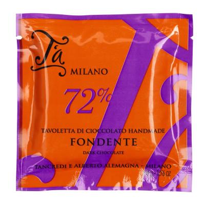 Tavoletta di Cioccolato Fondente, T´a Milano, 50g